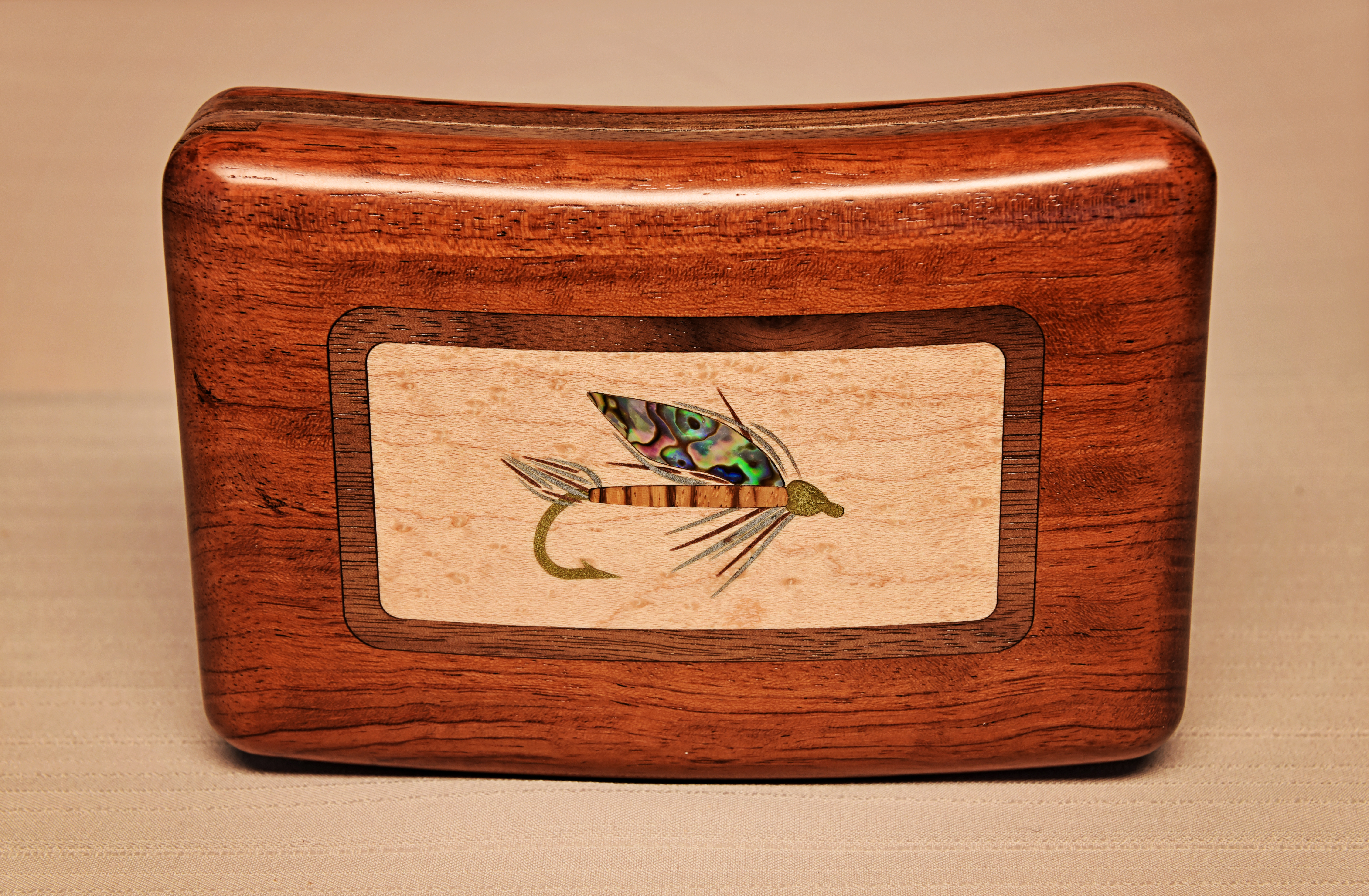 This is what a 125 fly box looks like hatch magazine for Fly fishing box