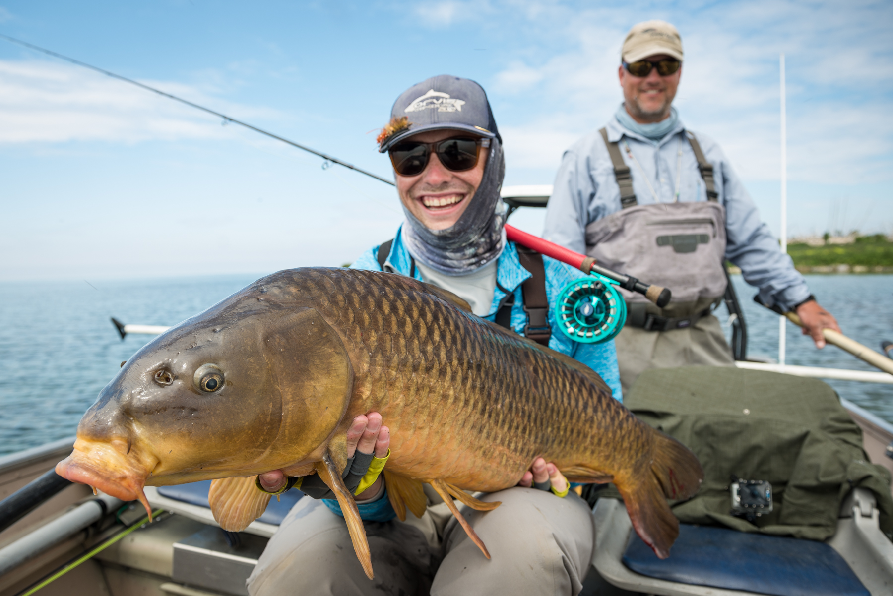 4 more tips on fly fishing for carp hatch magazine fly for Fly fishing carp