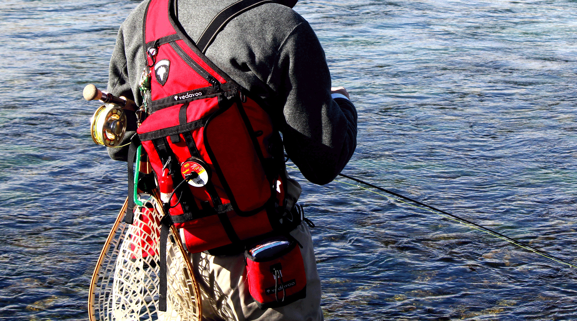 With vedavoo it 39 s the little things hatch magazine for Fly fishing pack
