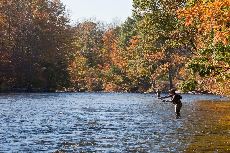 Salmon River Spey Casting