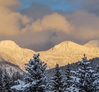 Swan range Montana