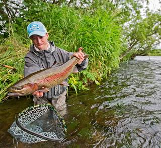 kamchatka - savan river rainbow trout