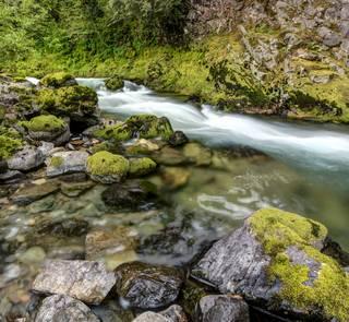 Quartzville Creek in Oregon