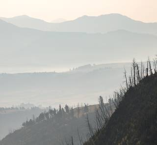 2017 wildfires yellowstone lamar valley
