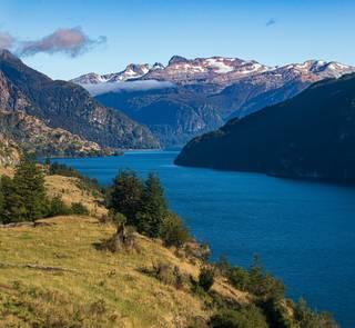 lake in the Aysen region of Chilean Patagonia