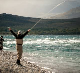 big water trout fishing
