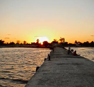 town dock xcalak mexico