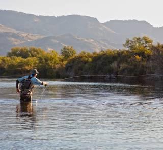 casting rio malleo patagonia argentina