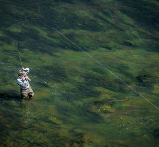 Yvon Chouinard fly fishing henry's fork river