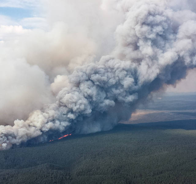 yellowstone park wildfire