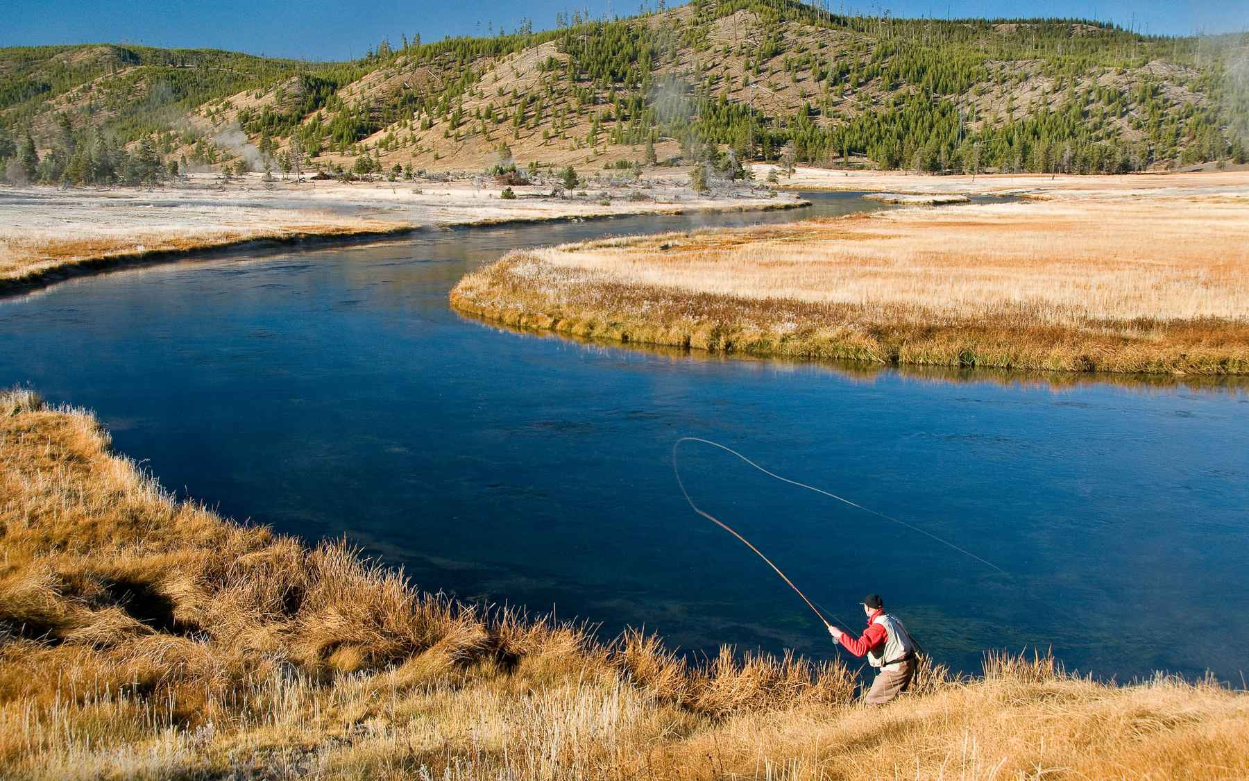 A different reason to improve hatch magazine fly for Yellowstone river fishing