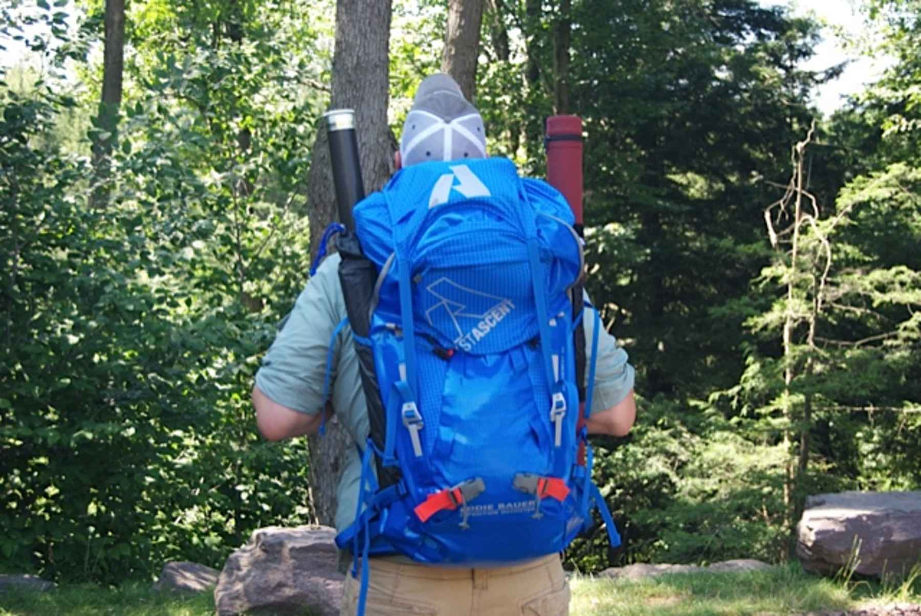 Backcountry fly fishing choosing a backpack hatch for Backpacking fishing pole