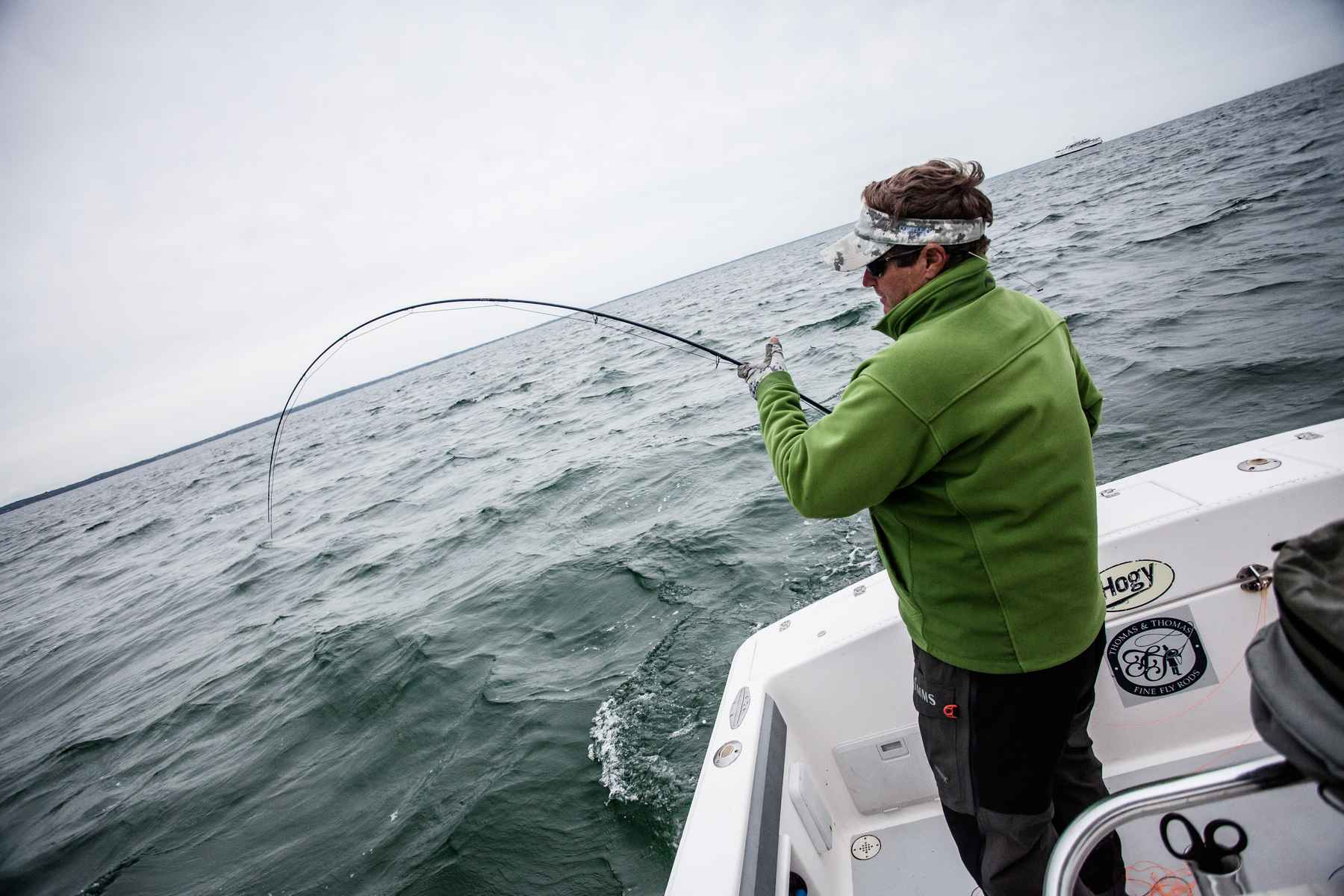 fly fishing striped bass cape cod