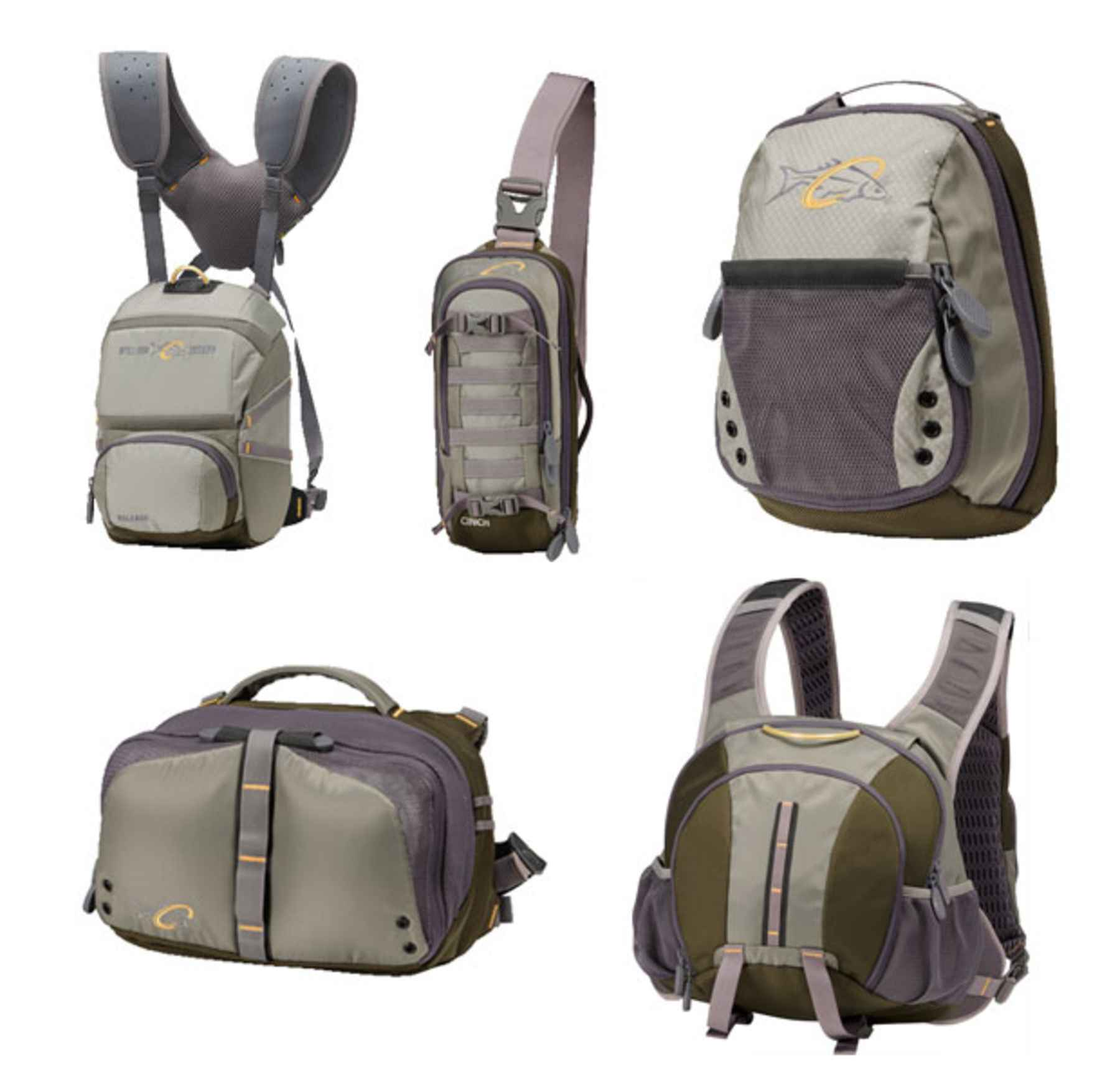 William joseph outs five all new fly fishing packs for for Fishing chest pack