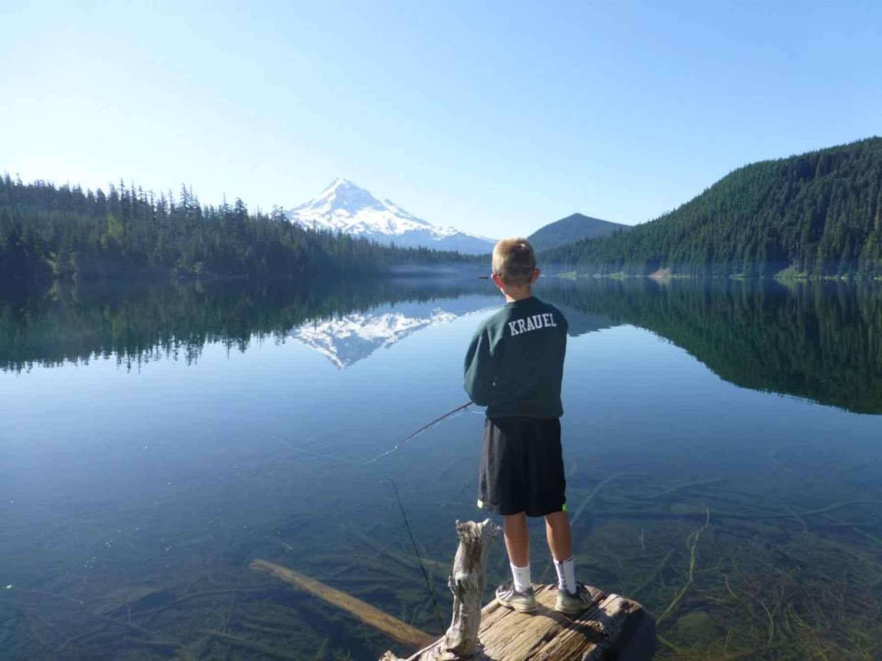 Lost lake oregon hatch magazine fly fishing etc for Lost lake oregon fishing