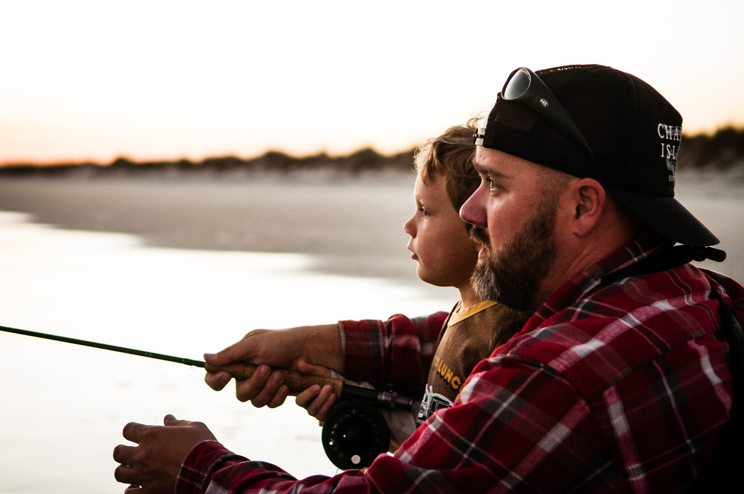 There were no shortage of pictures submitted this year of folks fishing with their kids. But they're not all created equal. This one, captured by Amanda Ball, stood out to the judges.