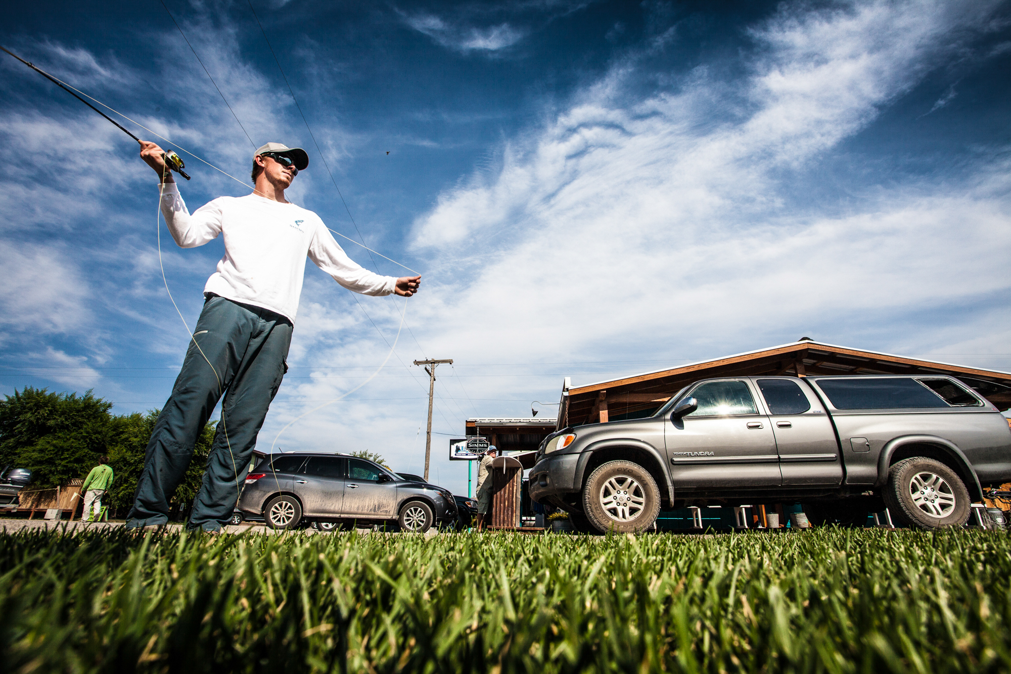Casting days, fishing nights. Jake Gates logs his time.