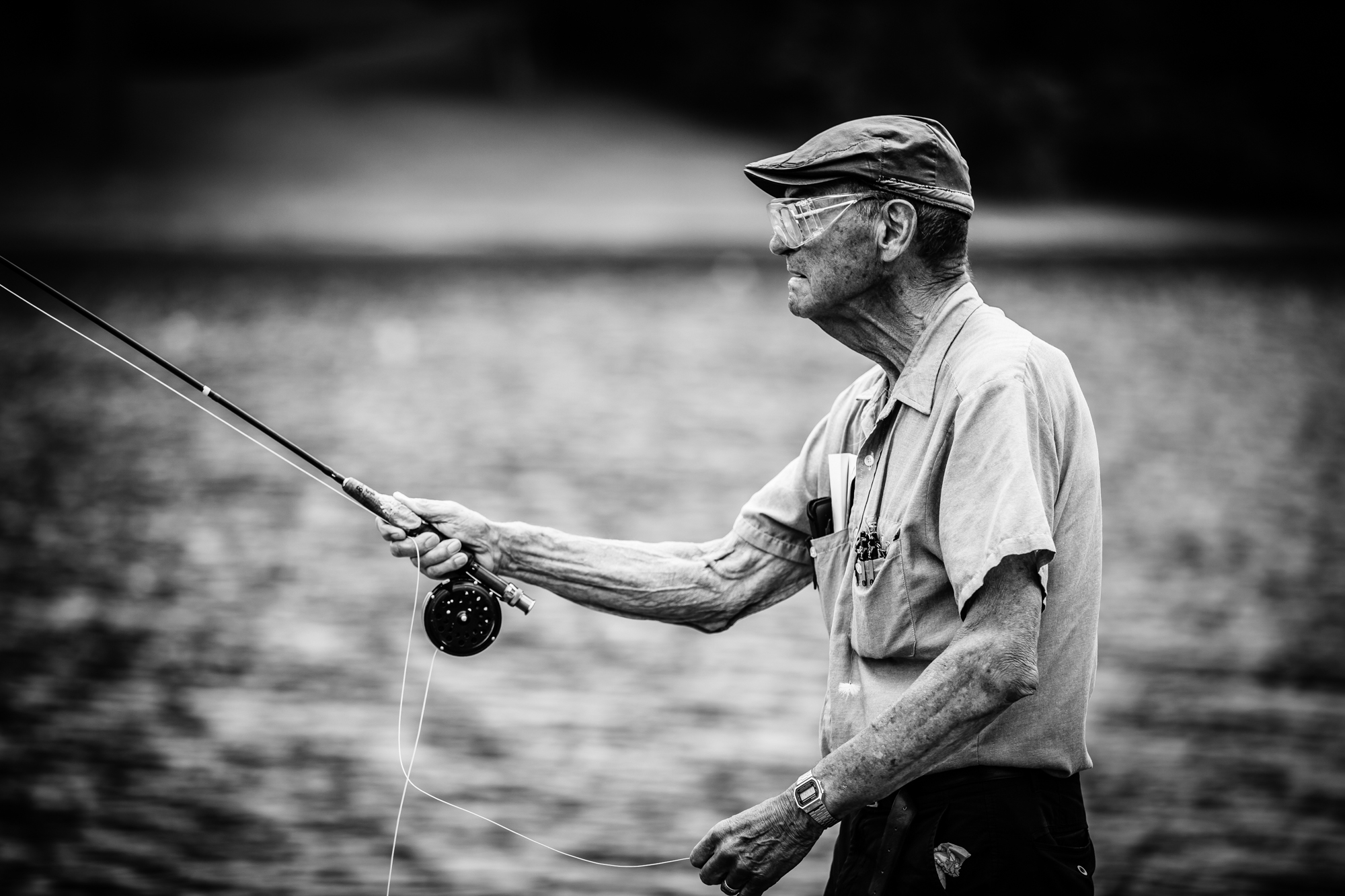 Photographer Nathan Ball snapped this shot, which illustrates the lifelong endurance of our sport in the lives of many anglers, at the 2014 American Casting Association championship.