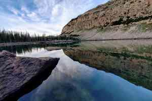 high mountain lake utah
