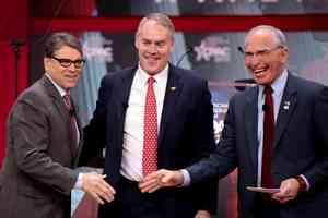 Rick Perry, Ryan Zinke & Bob Beauprez