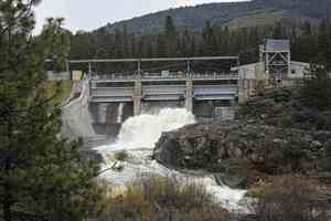 John C. Boyle dam on the Klamath River