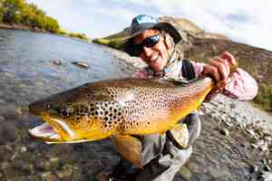 patagonia | rio chimehuin | brown trout