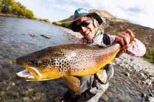 patagonia | rio chimehuin | brown trout