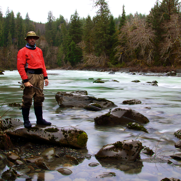 The hoh hatch magazine fly fishing etc for Hoh river fishing