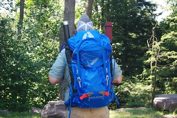 Backcountry fly fishing choosing a backpack hatch for Backpack fishing rod