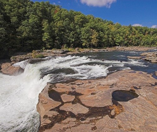 Gas companies targeting state parks for drilling hatch for Youghiogheny river fishing