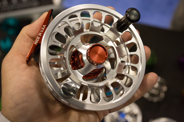 Allen Omega Fly Reel - Front View