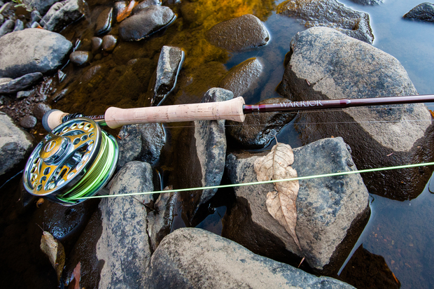 review shadow warrior fly rod hatch magazine fly