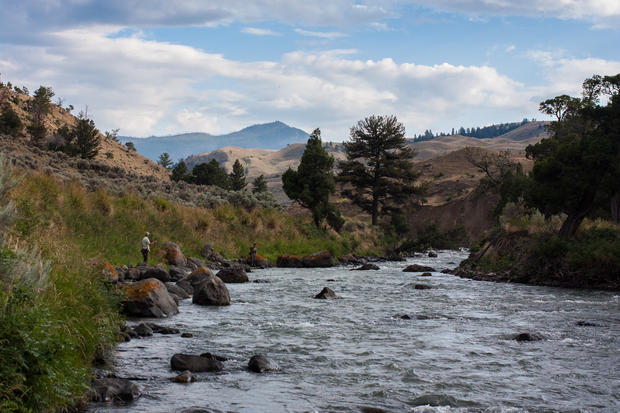 Gardiner River: Yellowstone National Park