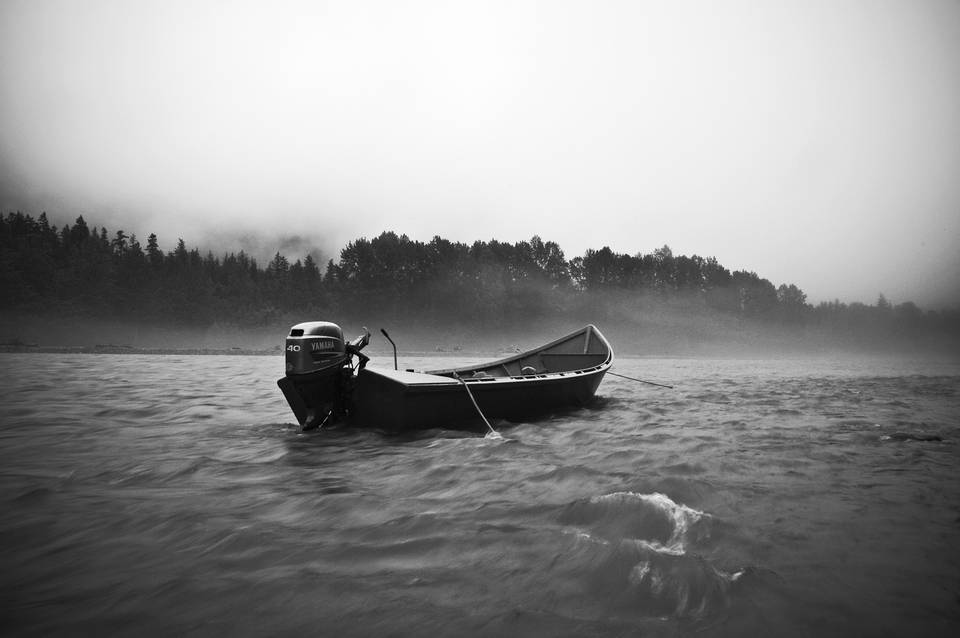 Dean River Boat