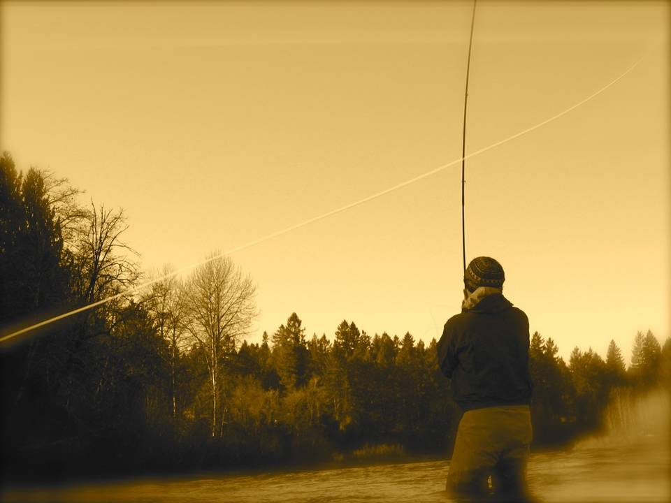 Casting for Oregon Winter Steelhead