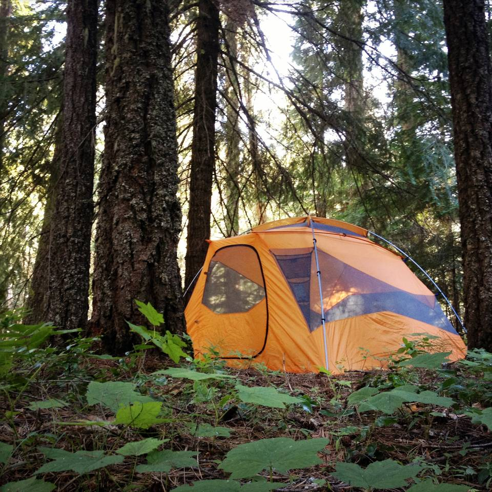 Camping on the Little Naches River