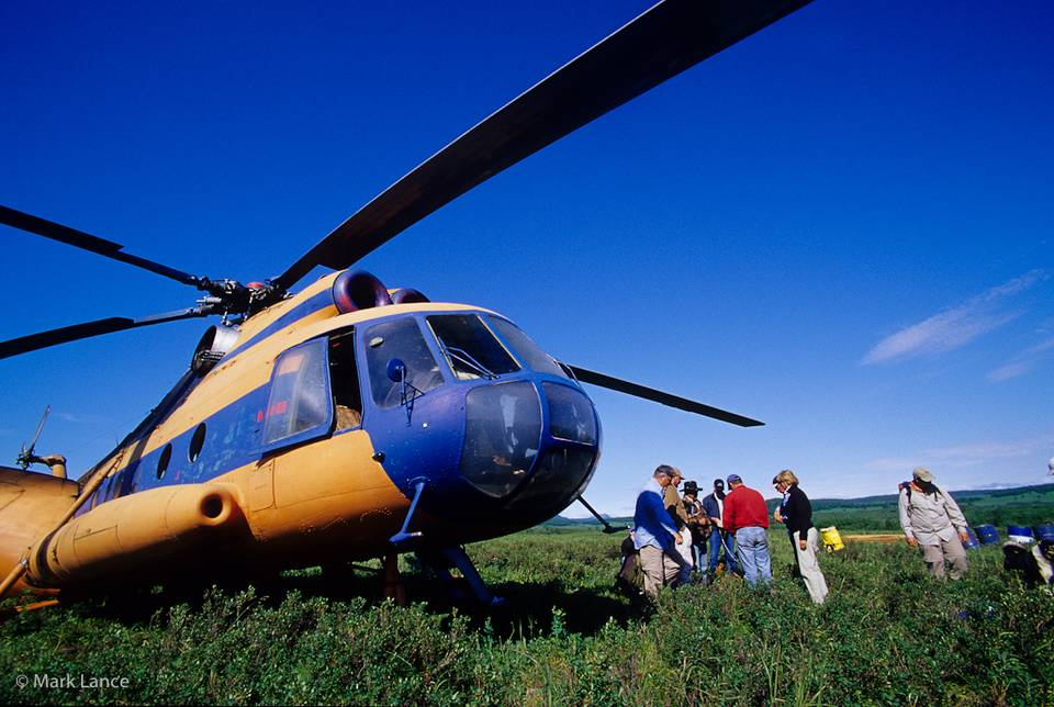 Kamchatka Fly Fishing - MI-8 Helicopter