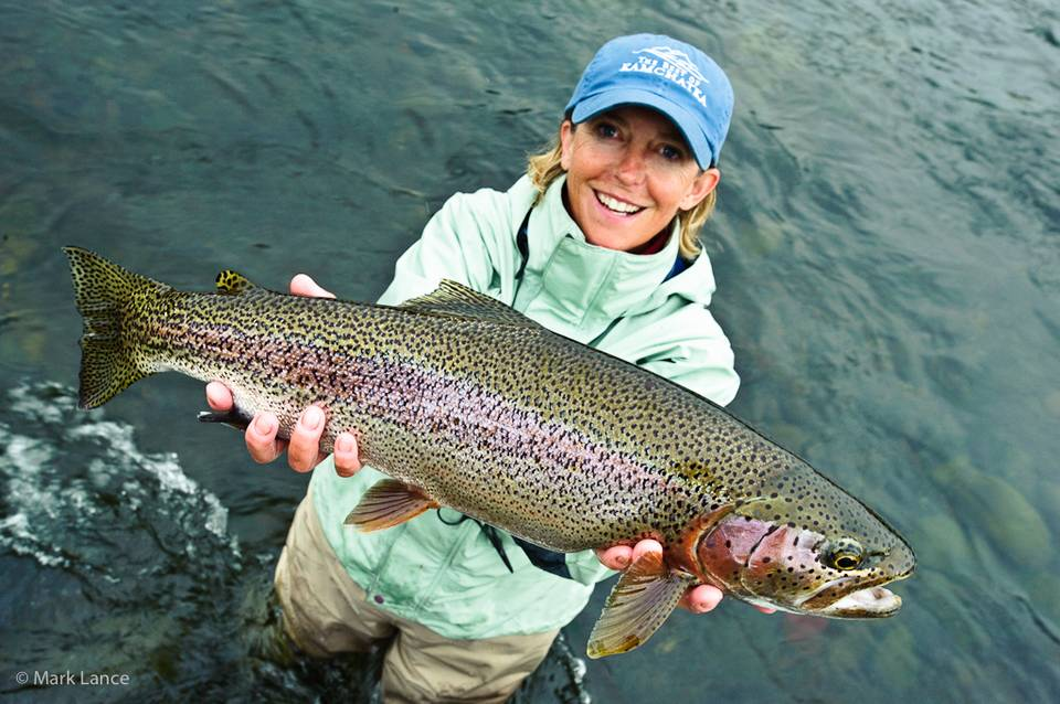 Kamchatka Fly Fishing - Rainbow Trout 3