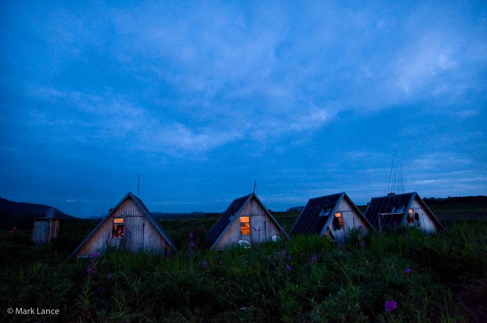 Kamchatka Fly Fishing - Cabins / Camp