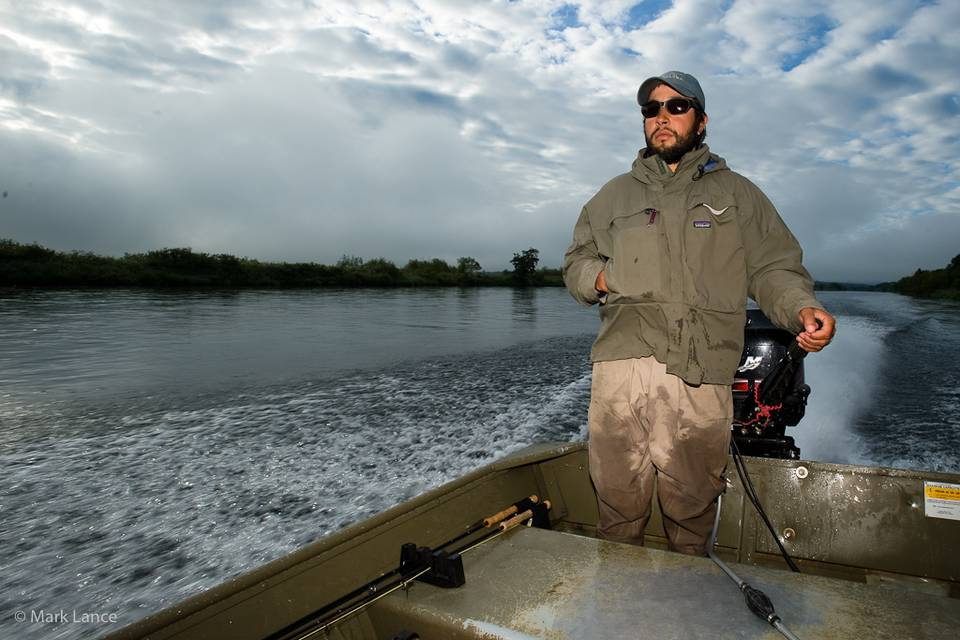Kamchatka Fly Fishing - Guide Boat