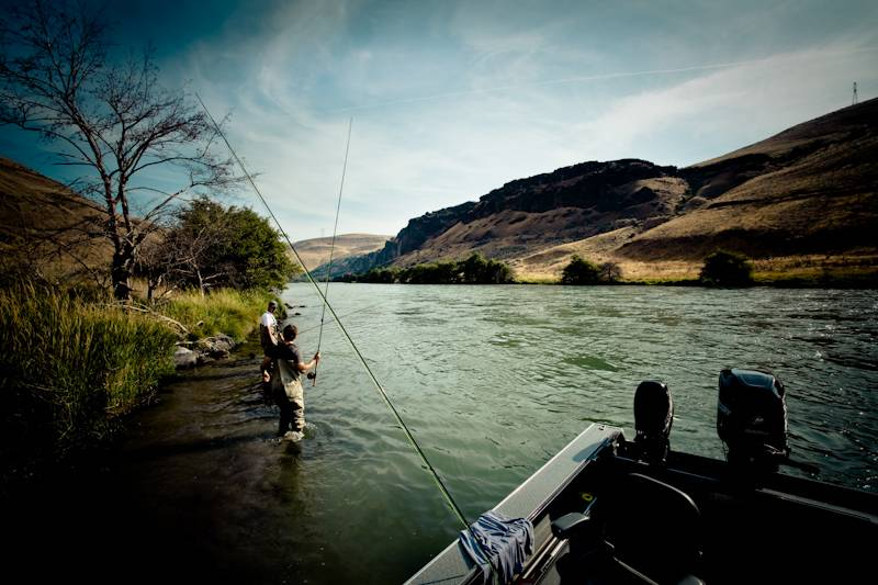 Early on The Deschutes