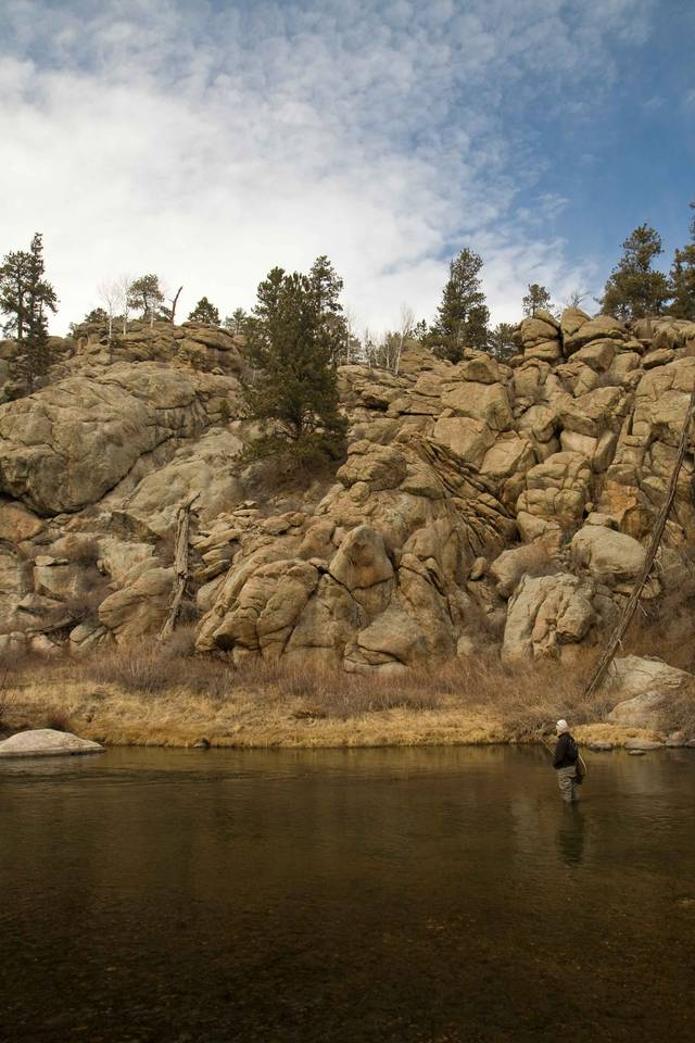 South Platte River - Eleven Mile Canyon Access