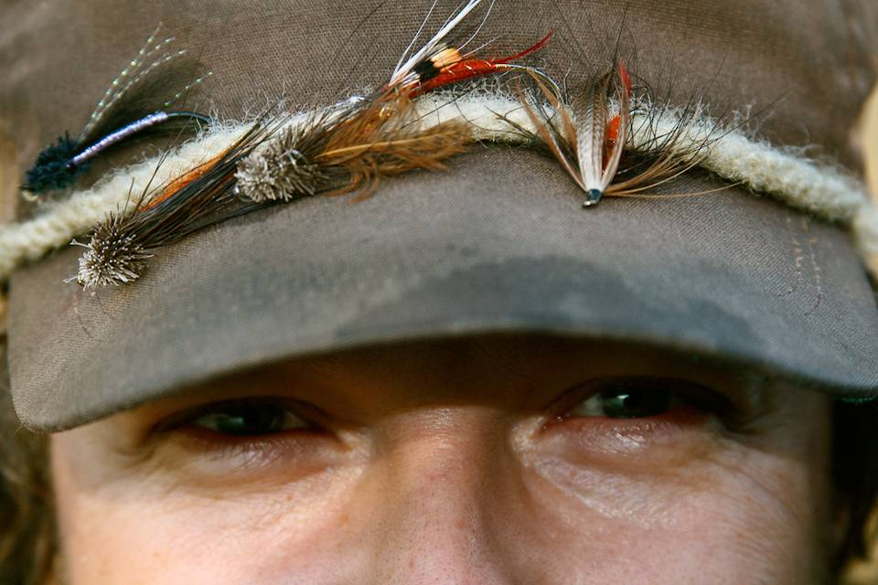 Flies on hat