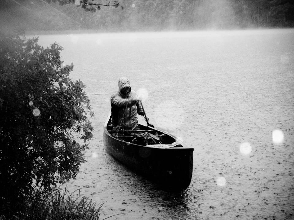 Thunderstorm Canoe
