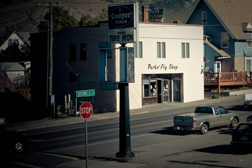 Parks Fly Shop in Gardiner, MT.