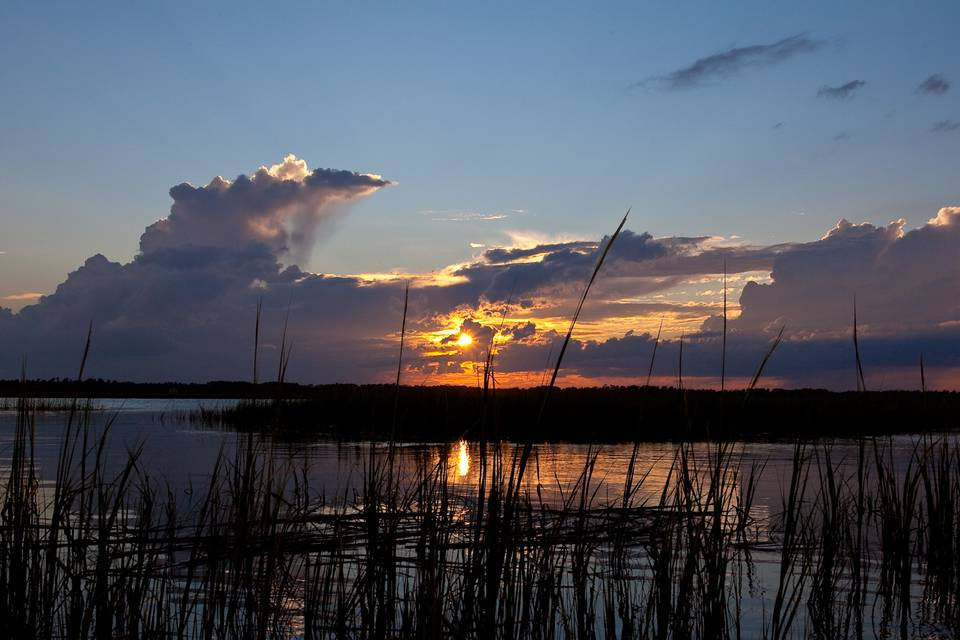 South Carolina Broad River Sunset