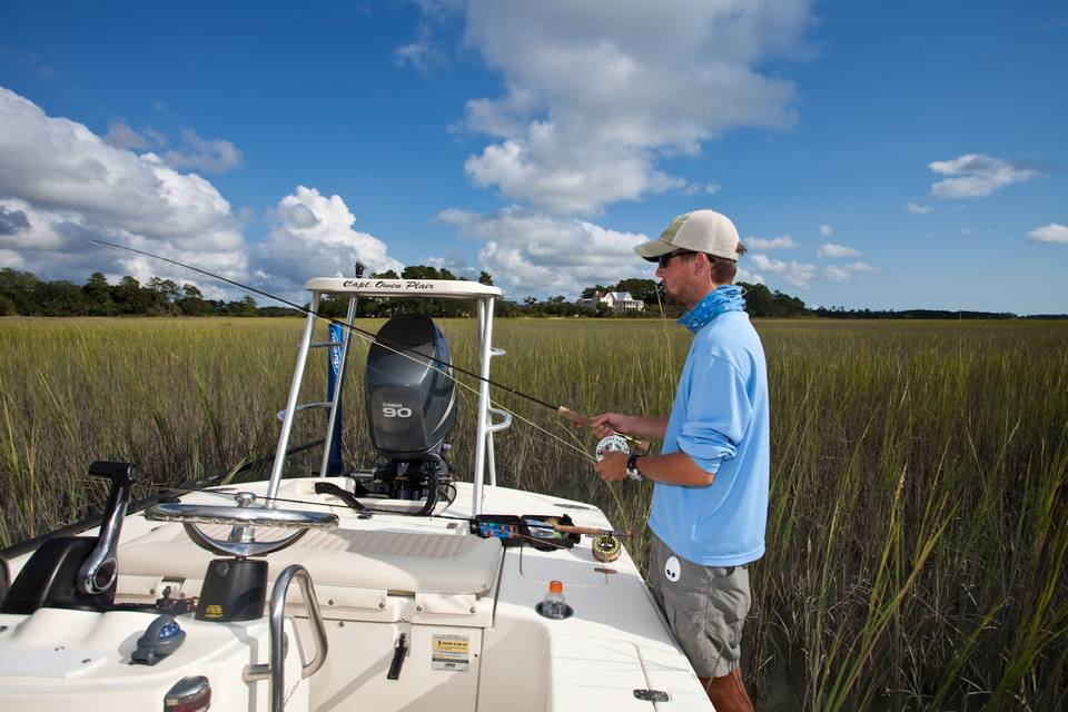 South Carolina Flyfishing Guide Owen Plair