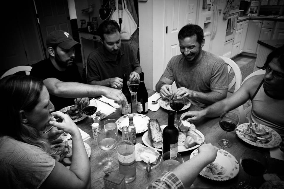 South Carolina Shrimp Boil Dinner
