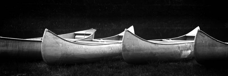 Unicoi Lake Canoes - by Trent Sizemore