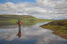 fly casting iceland